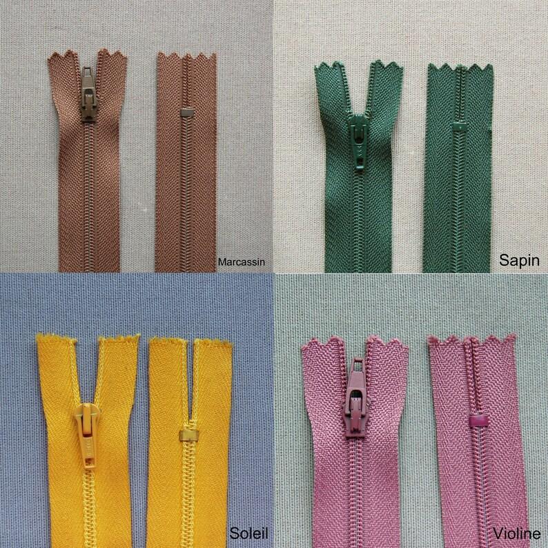 CLOSURE ZIPPER 18 cm mesh NYLON 4 not separable zipper zip pricing