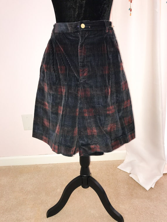 Vintage Lizsport Corduroy Culottes