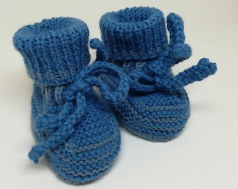 Wool baby shoes / / newborn baby booties