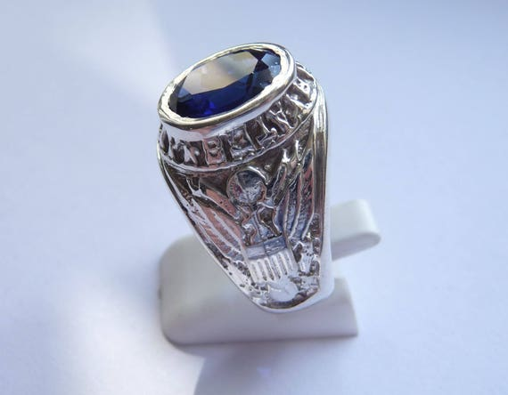 bague homme americaine