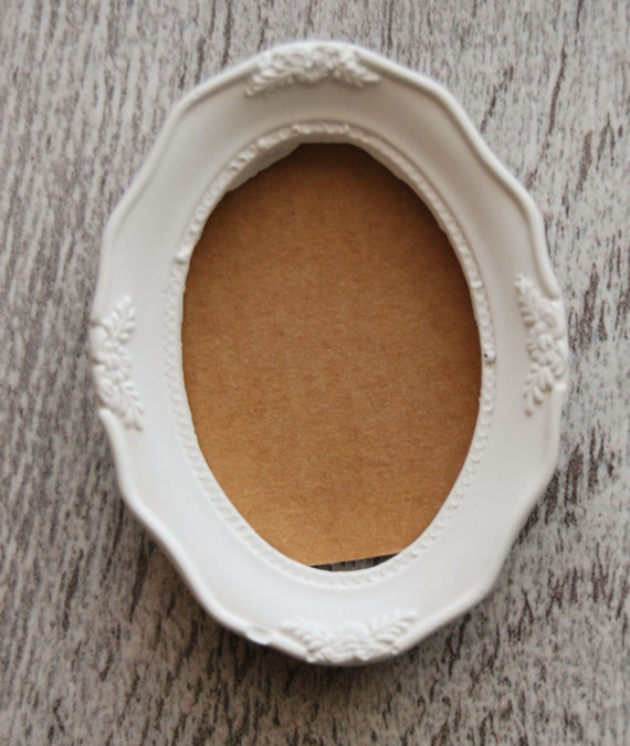 Frame oval shabby chic, stucco blank, homemade, vintage, wall decoration,  rustic cottage frame Panel