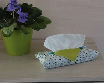 Cover tissue origami - petal pattern