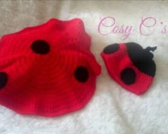 Ladybird Baby photo Prop