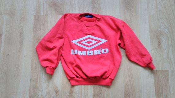Umbro Sweatshirt, Kids Red Jumpsuit, Kids Jumper,