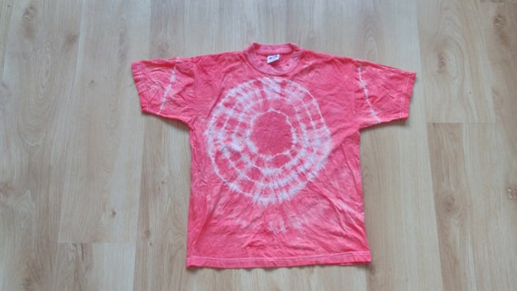 90s Hand-Dyed T-shirt Size SMALL XS Tie Dye Shirt