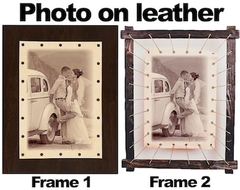 3rd 3 year 3 years leather picture Personalized