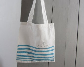 "Bag tote bag ""Ahoy sailor"""