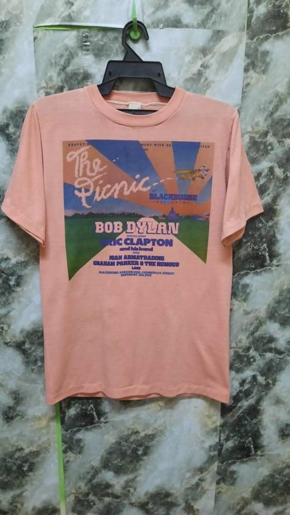 Vintage 70s The Picnic BOB DYLAN concert Promo T S