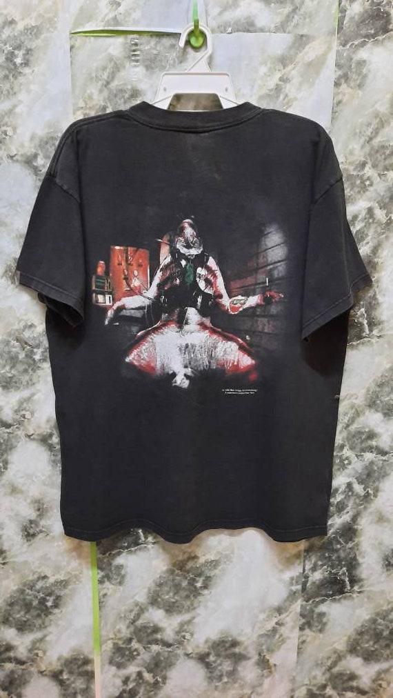 Vintage 90s Slipknot Nu Metal Band promo T Shirt
