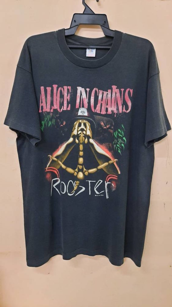 Vintage 90s Alice in Chains ROOSTER grunge promo b