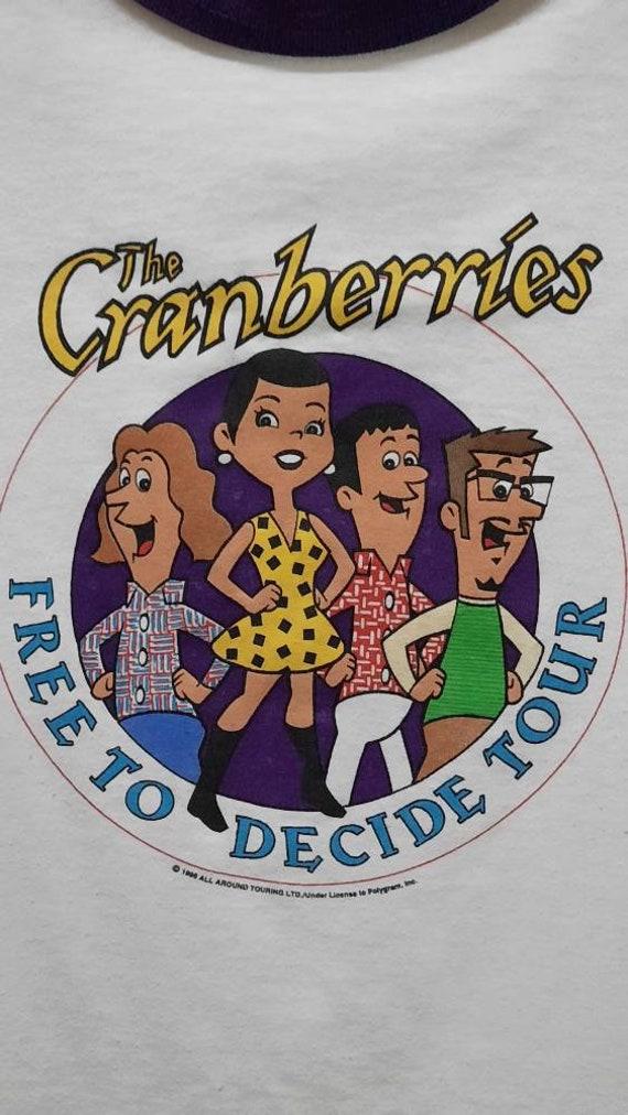Vintage 90s The Cranberries free to decide tour Pr