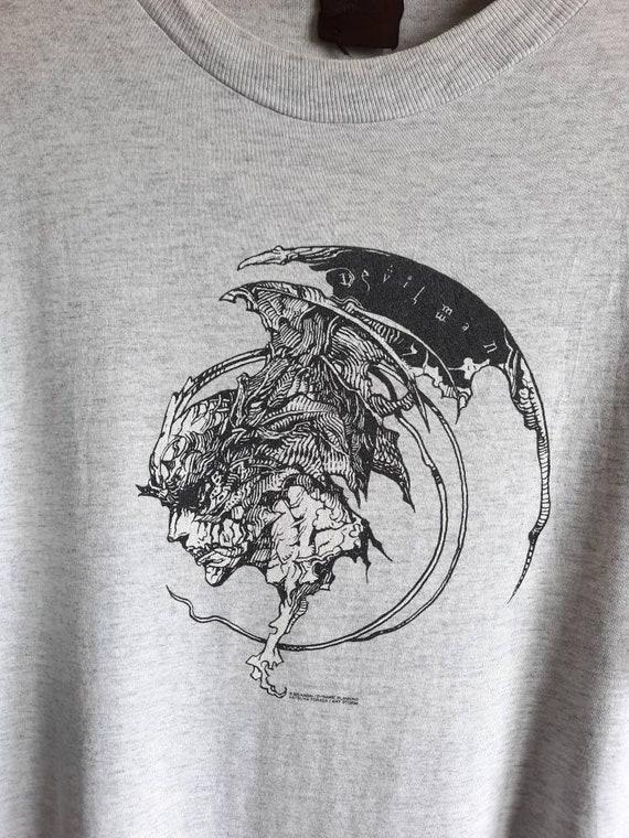Vintage Devilman Japan Manga Anime T Shirt