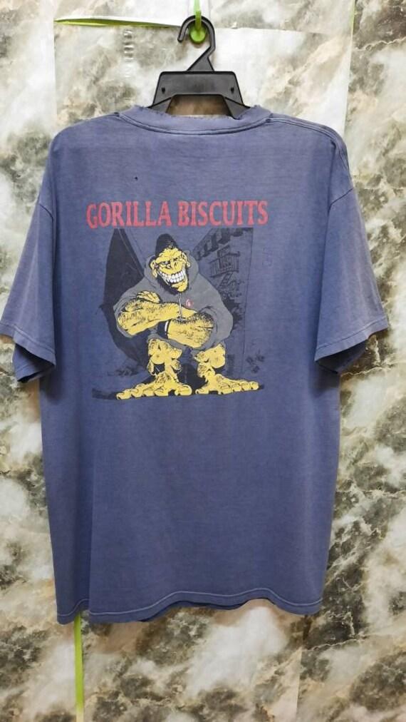 Vintage 90s Gorilla Biscuits New York Hardcore Pun