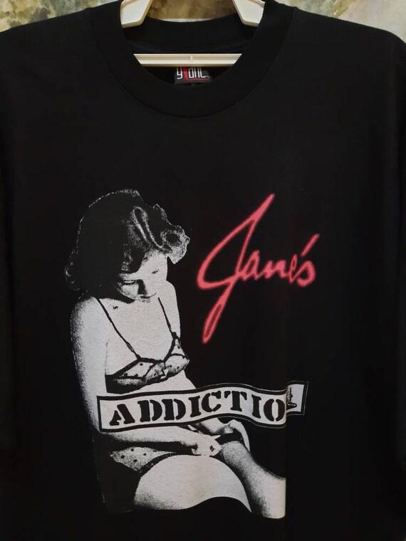 Vintage 90s Janes Addiction Band Promo T Shirt - image 2