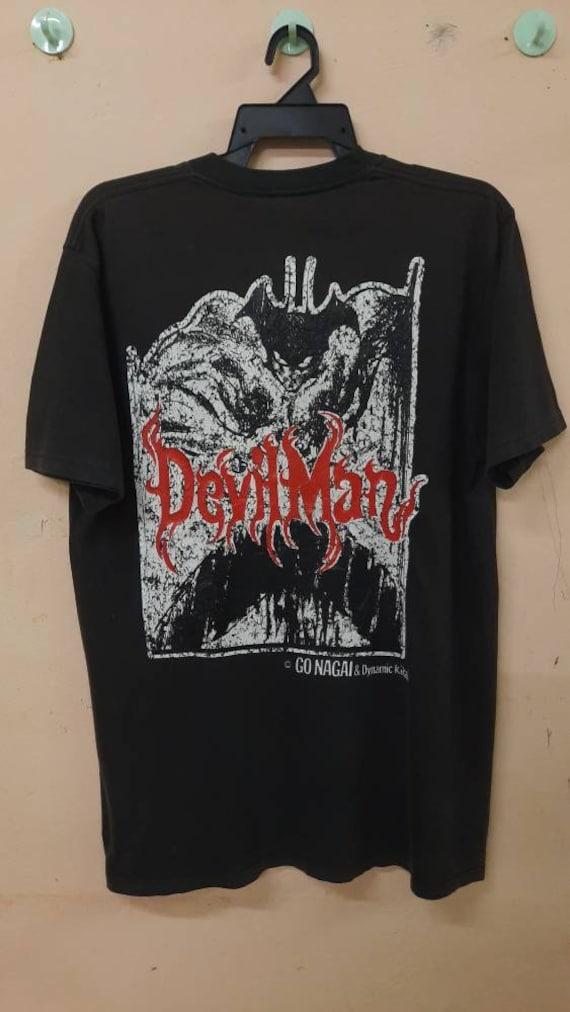 Vintage 90s Devilman Japan Anime T Shirt