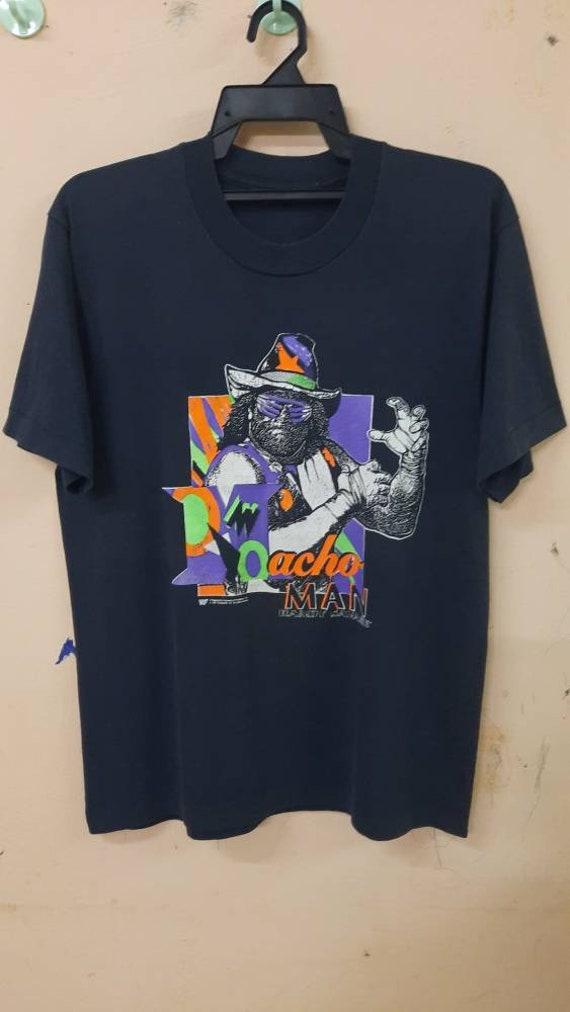 Vintage 90s Mancho Man Randy Savage wwf wrestling