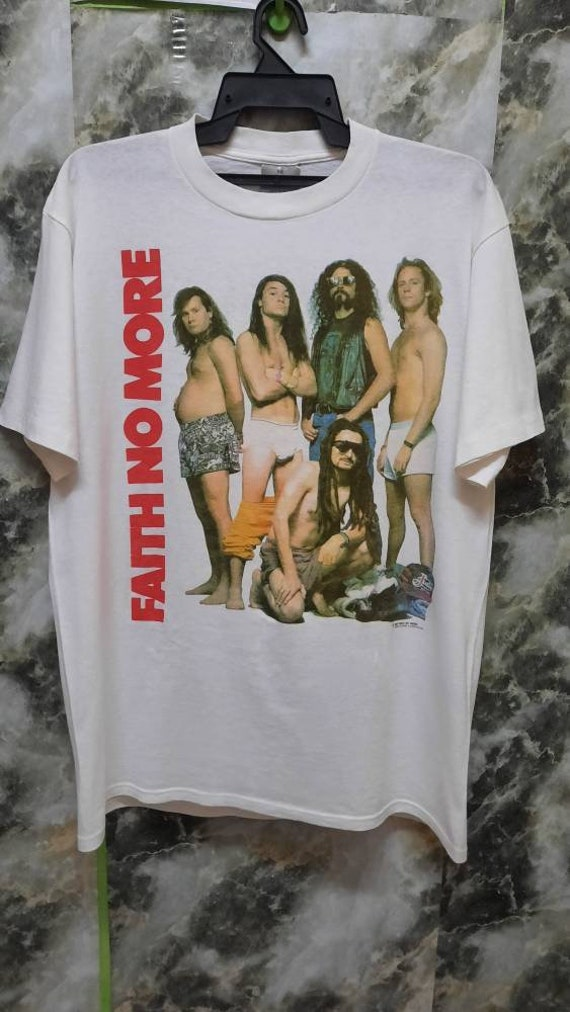 Vintage 90s Faith No More  Album promo rare T Shir