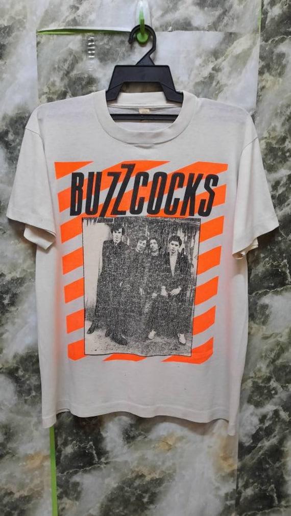 Vintage 80s The BUZZCOCKS Rare Punk  T Shirt