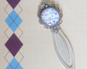 Gift for school - bookmark: thank you teacher
