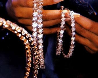 d03fa6a158 Shiny earrings | Etsy