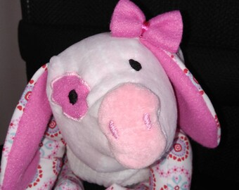 Plush pig pig Gertrude
