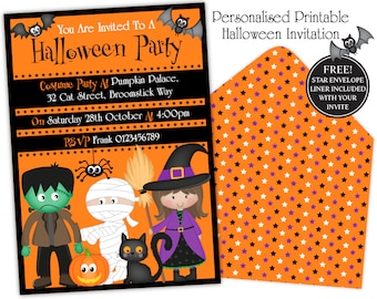 halloween party printable decorationshalloween party etsy