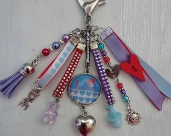 key LOVE, bag charm