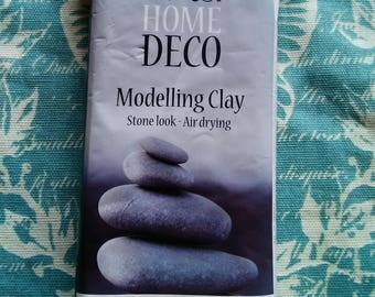 Play dough Home Deco - look stone - air dry.
