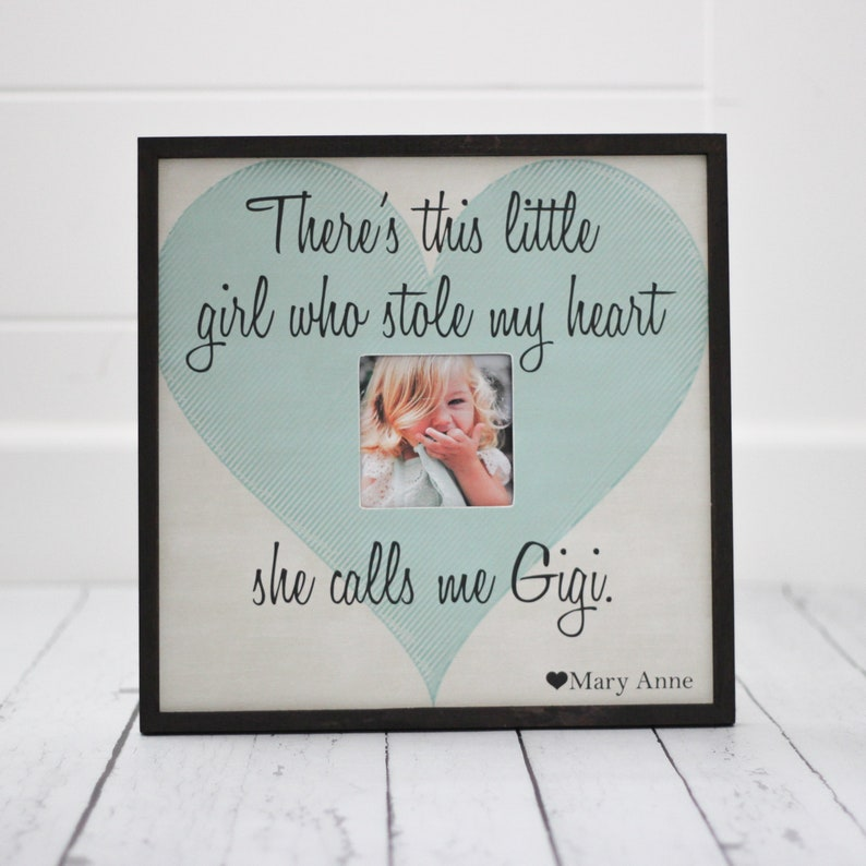 Theres This Little Girl Who Stole My Heart Quote Picture Etsy