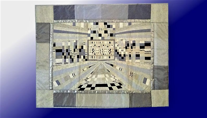 Pianissimo. The quilt is made following the image 0