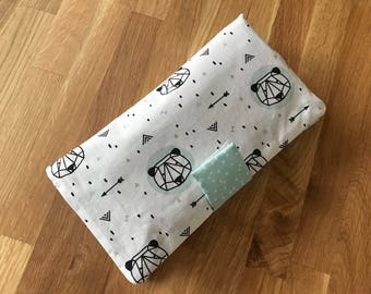 TO order - pocket for diapers and wipes