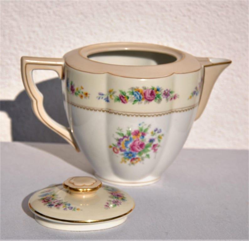 Limoges porcelain tea service Charles Ahrenfeldt
