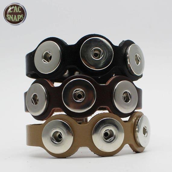 Bracelet en cuir avec fermoir boucle ceinture pour   Etsy c563728ffb9