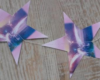 Garland of stars - Theme Pegasus and Unicorn