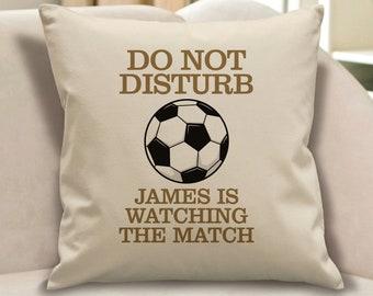 Football pillow | Etsy