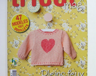 """Journal, magazine """"knitting magazine '"""" excluding series number 9 spotlight on the baby!"""