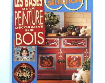 """Knitting Selection book """"Decorative painting on wood bases"""" painting on wood."""