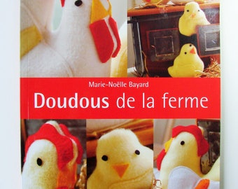 """Book """"Toys from the farm"""" Mary Noelle Bayard. Published by Mango practice."""