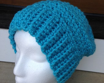 Bright Teal Slouch