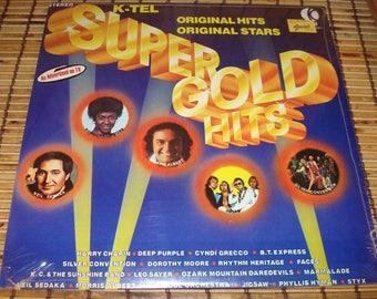 Super Gold LP - Sealed - Various Artists - K-Tel Records - 1977