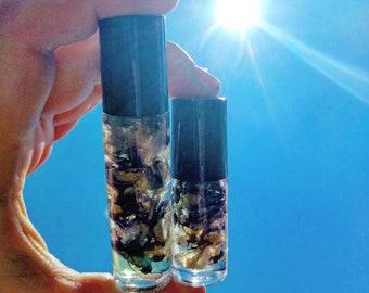 Wisteria Inner Vision Organic Essential Oil-Beauty Magick Messages Healing Love Manifestation Wisdom Mercury