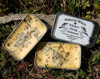 Witches' Flying Ointment- Astral Projection Metaphysical Divination Witchcraft Organic Wormwood