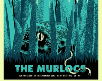 A2 The Murlocs limited edition screen print