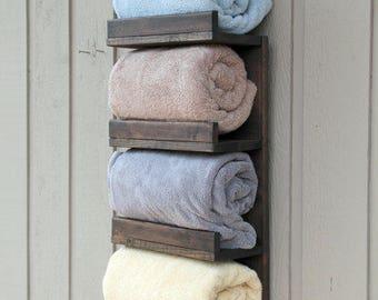 Etsy & Rolled towel rack   Etsy