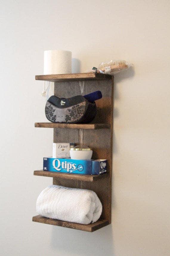Everyday Towel Rack Bathroom, Hotel Bathroom Towel Shelf