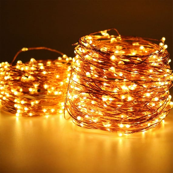 100 Leds 10 Meters Fairy Lights Wedding Decorations Etsy