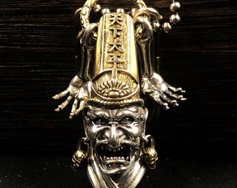 Taoist hei Wu Cheng silver 925 and copper protective amulet