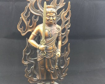 copper and bronze Buddhist statue Myo.