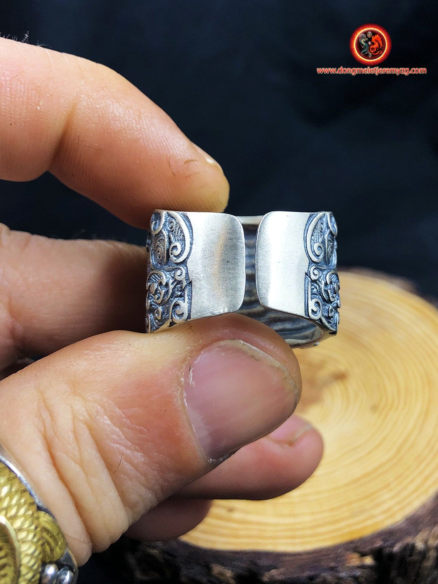Silver Tao Ring 925