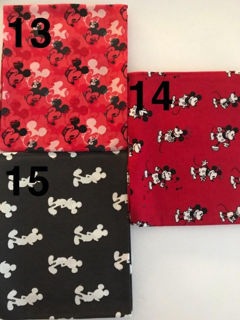 Mickey Mouse 90th themed tie headbands